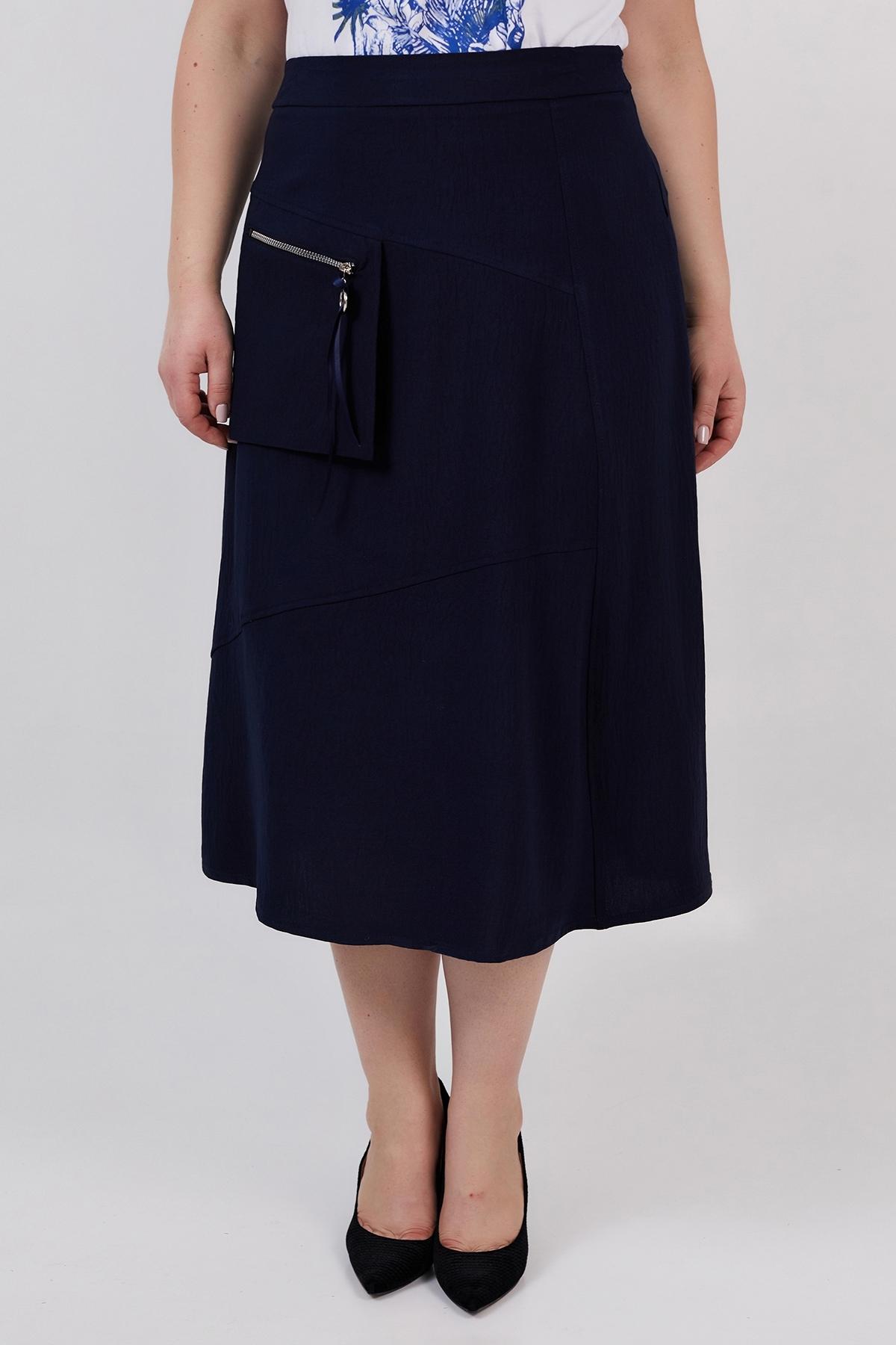 Юбка Фрезия (темно-синий)