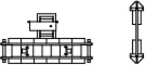 Путевые весы с габаритными воротами, (TT)