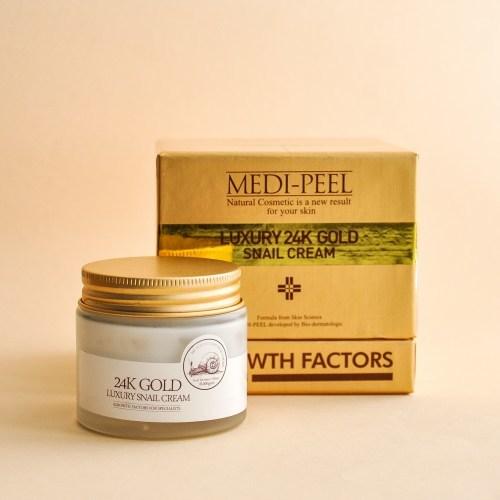 Крем MEDI-PEEL Luxury 24 Gold Snail cream 50 мл