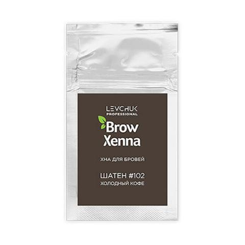 Хна для бровей BrowXenna (№102, холодный кофе) саше 6гр