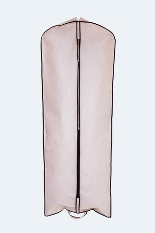 Чехол для свадебного платья объемный прямой 65*170*15 см
