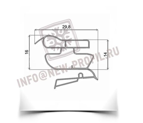 Уплотнитель для холодильника Саратов 153. Размер 1050*450 мм(022)