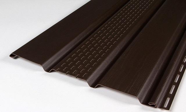 Соффит Docke с средней перфорацией (Шоколад)