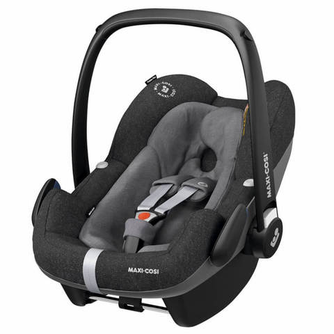 Автокресло Maxi-Cosi Pebble Plus Sparkling Grey