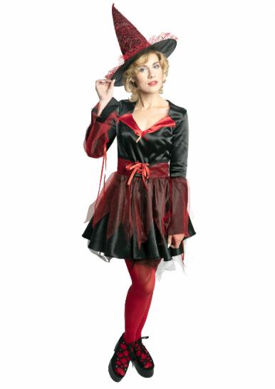 Женский карнавальный костюм Ведьма