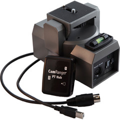 Беспроводной передатчик CamRanger PT Hub и панорамная головка MP-360 Pan/Tilt Head