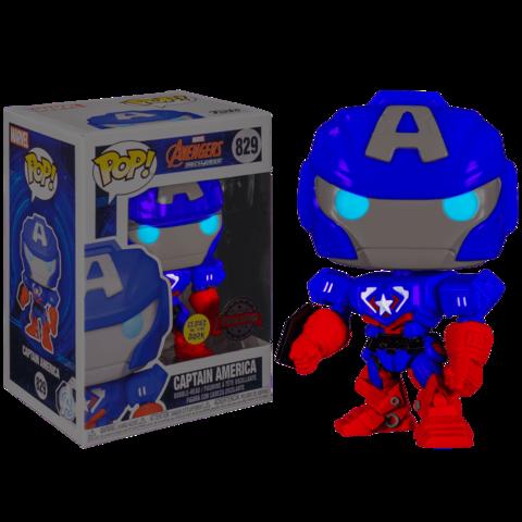 Фигурка Funko Pop! Special Edition Avengers: MechStrike. Captain America (GW)    Капитан Америка