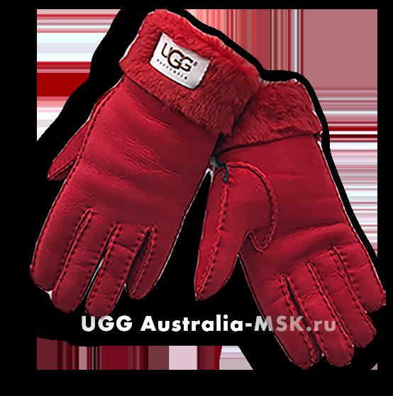 UGG Women's Glove Classic Red