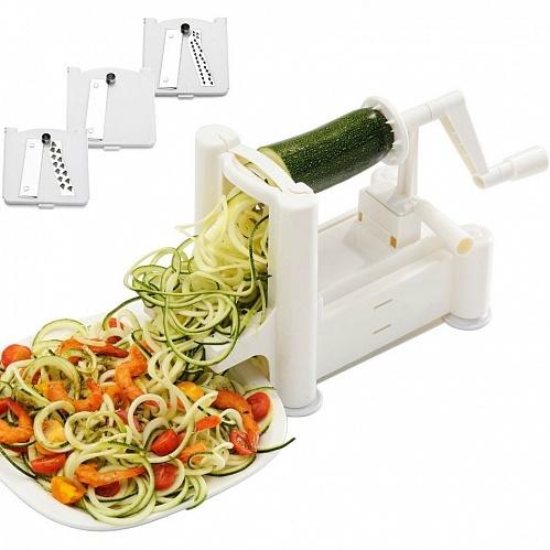 Овощерезки, терки, измельчители Овощерезка спиральная настольная Kitchen Basics db876a76ed0d7a37192e1407c8bf9acd.jpg