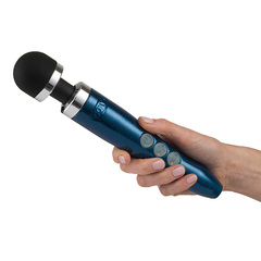 DOXY - DIE CAST 3R RECHARGEABLE WAND MASSAGER BLUE FLAME (мини)
