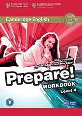 Cambridge English Prepare! Level 4 Workbook wit...