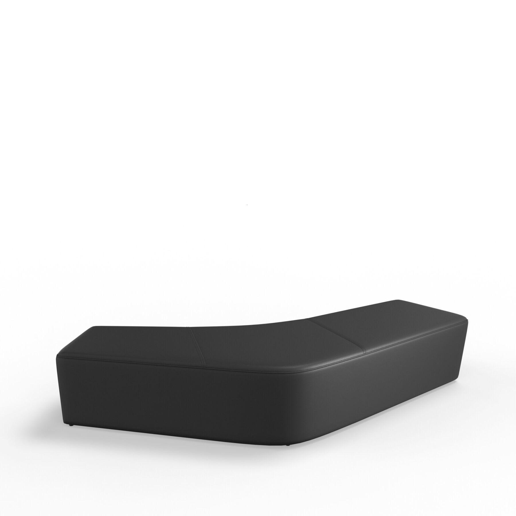 Четырехместный диван KULIK SYSTEM SLIDE_3 Кожа Без спинки