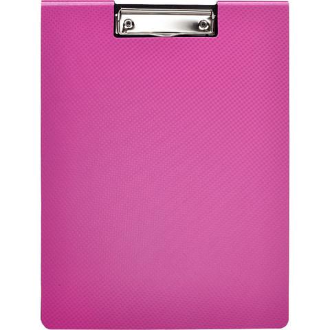 Папка-планшет Attache Selection А4 пластиковая розовая с крышкой