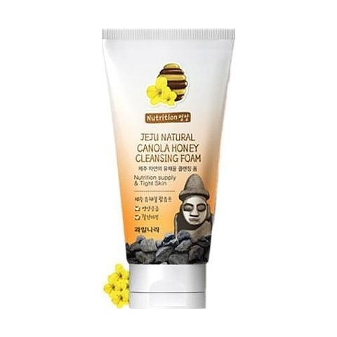 Пенка для умывания Jeju Natural Canola Honey Cleansing Foam 120 гр.