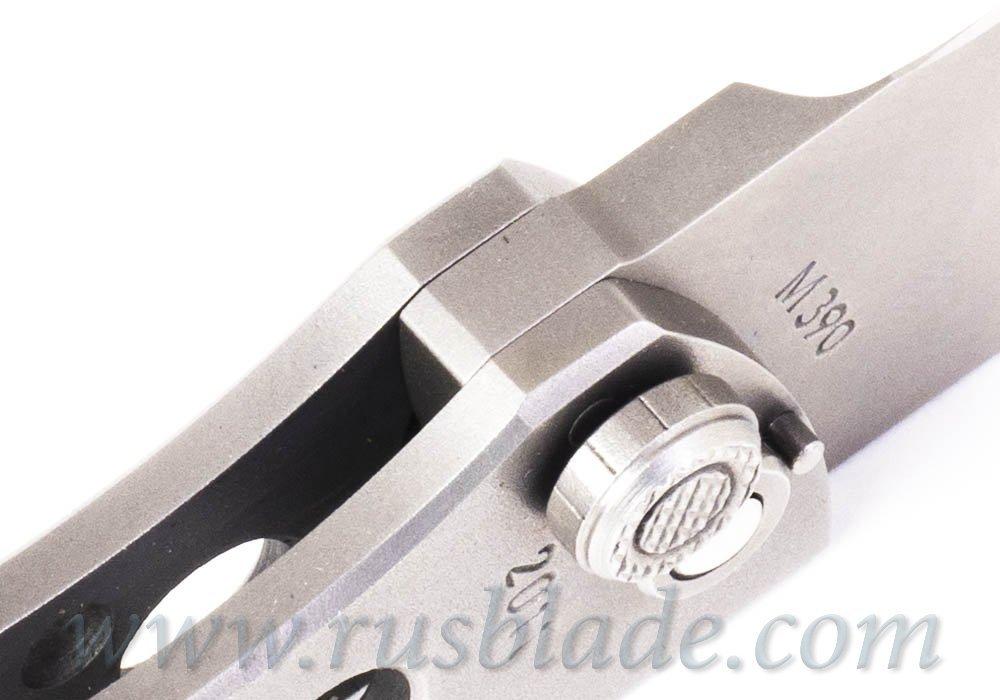 Custom Urakov M390 Confidence Factor S knife - фотография