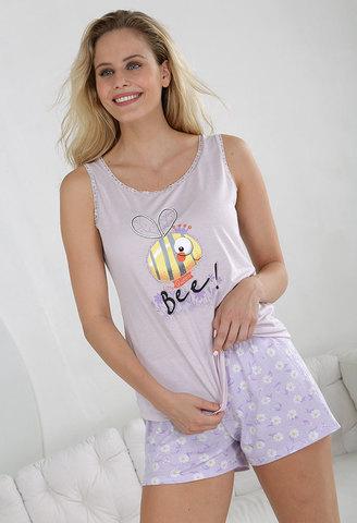 Пижама женская с шортами Massana MP_211238