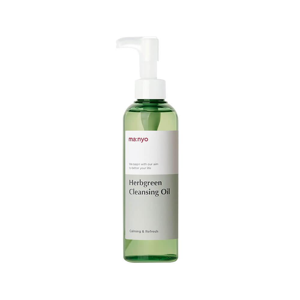 Гидрофильное масло MaNyo Factory Herbgreen Cleansing Oil 200 мл