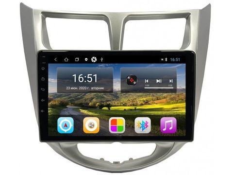 Магнитола Hyundai Solaris 2010-2017 Android 11 2/16GB IPS модель CB3005T3К