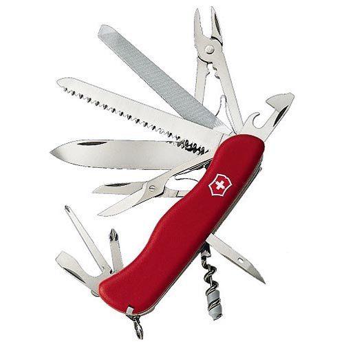 Складной нож Victorinox Work Champ (0.9064) 111 мм., 21 функция, цвет красный