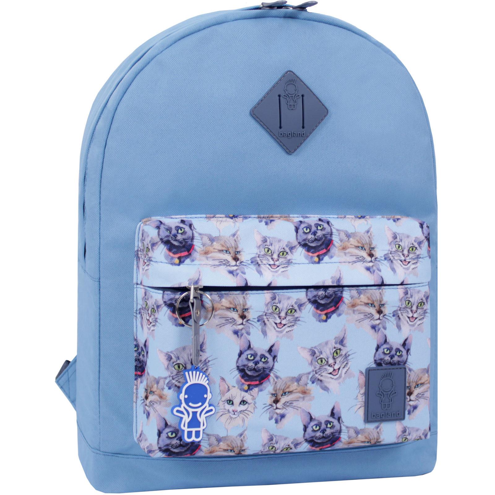 Модные рюкзаки Рюкзак Bagland Молодежный W/R 17 л. голубой 148 (00533662) IMG_6422_суб.148_.JPG