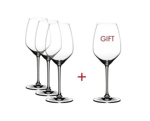 Набор из 4-х бокалов для вина Riesling Pay 3 Get 4 460 мл, артикул 4411/15. Серия Extreme