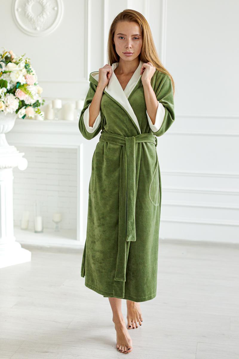 Домашняя одежда Халат с капюшоном Ника 1296 Ky0rPb0v.jpeg