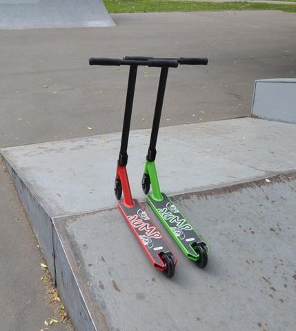 трюковый самокат ATEOX JUMP 2021
