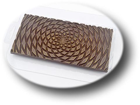 Пластиковая форма для шоколада Плитка Гипно