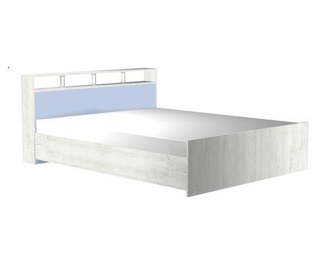 Кровать НАПОЛИ-1950-1400 /2158*862*1464/