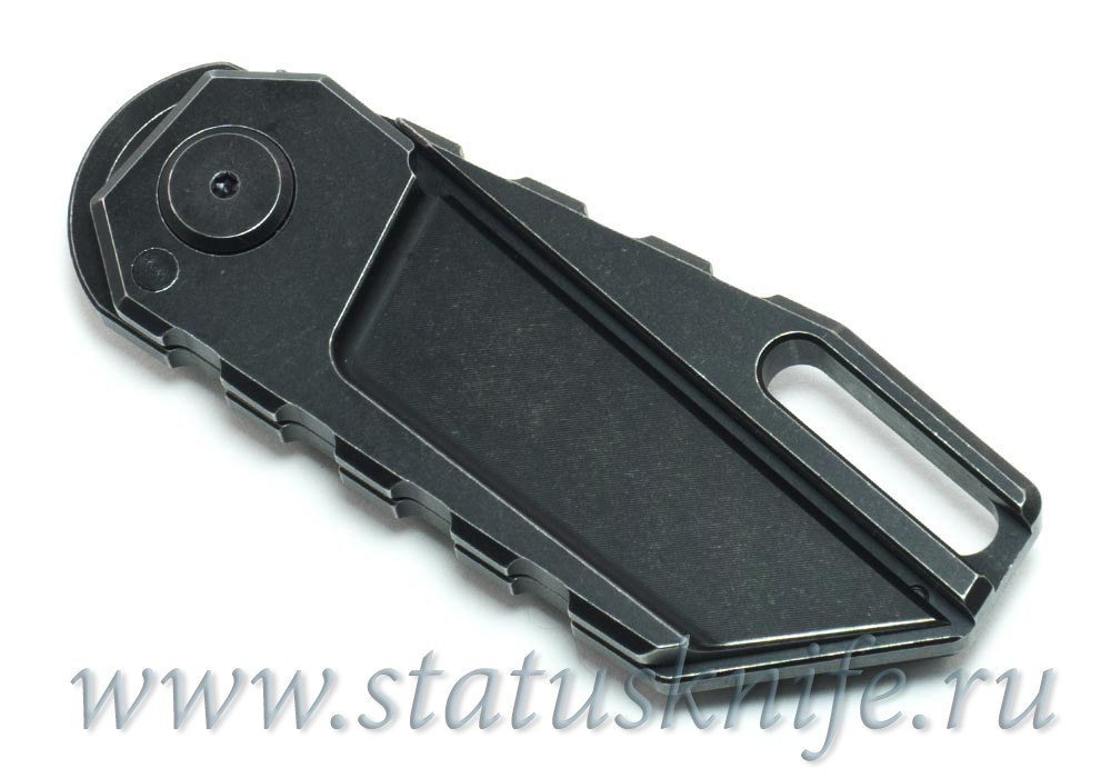 Нож Quartermaster ALF-6 Yoda Black SW Texas Tea - фотография