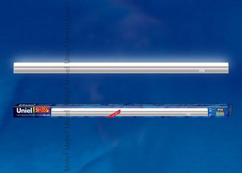 ULI-L02-5W-4200K-SL Линейный светильник LED (аналог Т5), 400Lm, 4200К, выключатель на корпусе. Цвет корпуса — серебристый