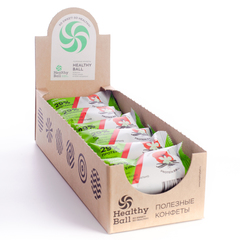 Набор полезных конфет Protein Ball. Мак-ваниль (12 упаковок по 2 конфеты)
