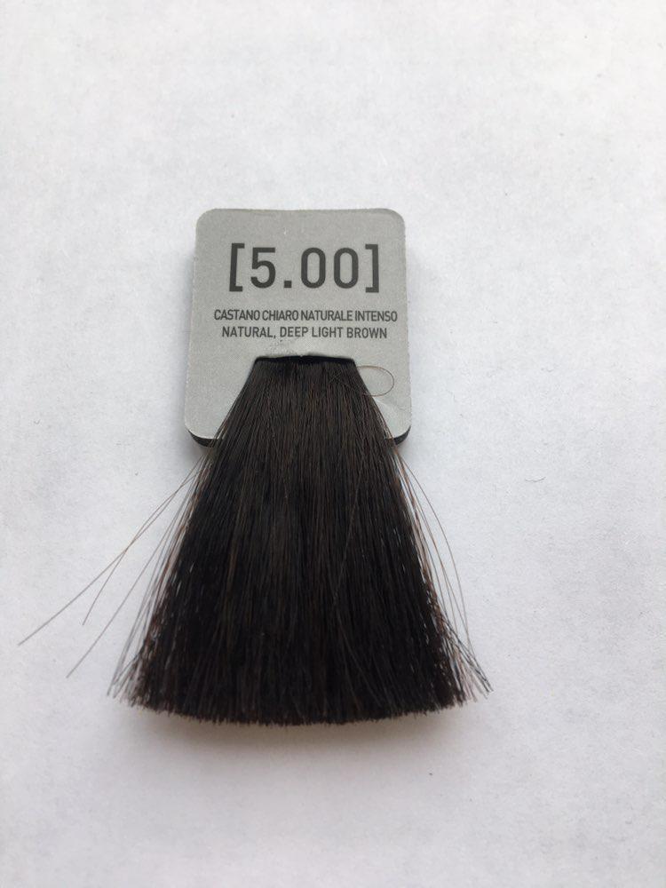 INCOLOR Крем-краска для волос [5.00]  Супер натуральный светло-коричневый  (100 мл)