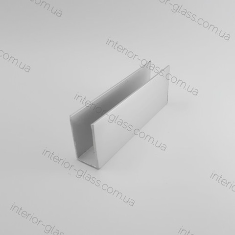 Швеллер (профиль) алюминиевый 36x20x1,5 мм ST-508