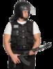 Бронежилет Комфорт 2-2 УНИ чехол «Дельта» (бронесталь), Бр2 класс защиты