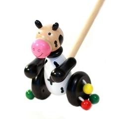 Toys Lab Каталка «Коровка» (71003)
