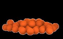 Бойлы насадочные плавающие Sonik Baits TIGER NUT Fluo Pop-ups 11мм 50мл (Орех тигровый)