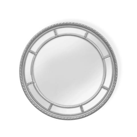 Зеркало дизайнерское 345702 by Light Room (серебряный)