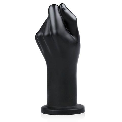Черная, сжатая в кулак рука Fist Corps - 22 см.