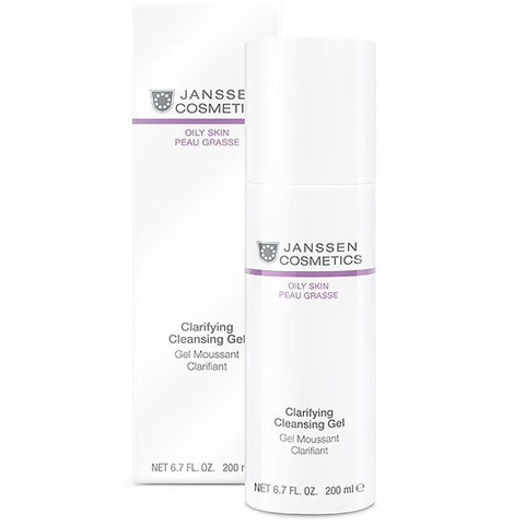 Janssen Oily Skin: Очищающий гель для жирной кожи лица (Clarifying Cleansing Gel)