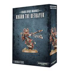 Kharn the Betrayer. Коробка