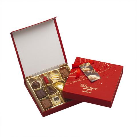 """შოკოლადის ნაკრები """"Valentino"""" 175 gr"""