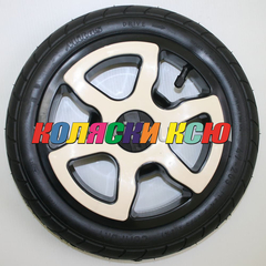 Колесо для детской коляски №007070 надув 12 дюймов (47-203) 12 1/2х1,75х2 1/4 (Adamex, BeBe-Mobile) Цвет: БЕЖЕВЫЙ