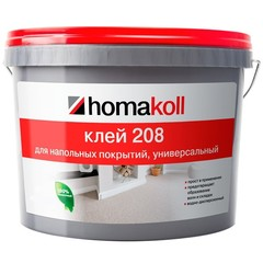Клей для напольных покрытий Homakoll 208 универсальный 4 кг