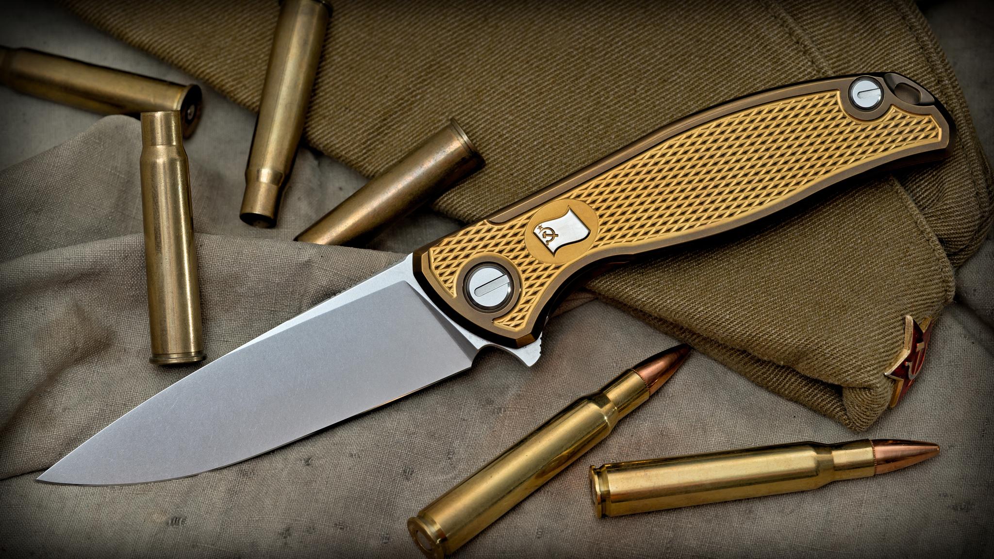 Нож Широгоров Знамя Победы Кастом Elmax - фотография