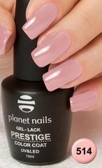Planet Nails, Гель-лак Prestige №514, 10мл