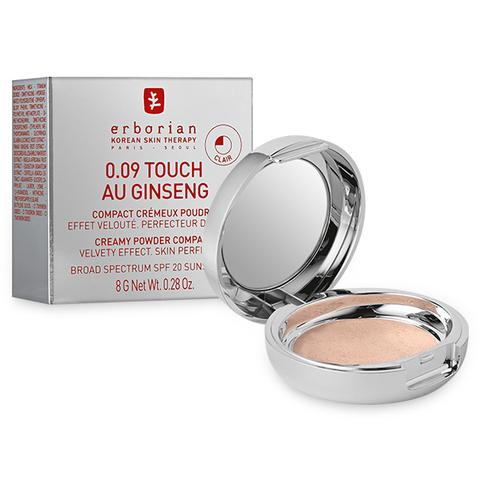 Erborian Крем-пудра компактная тач оу женьшень клеар 0.09 Touch Au Ginseng Clair  Creamy Powder Compact