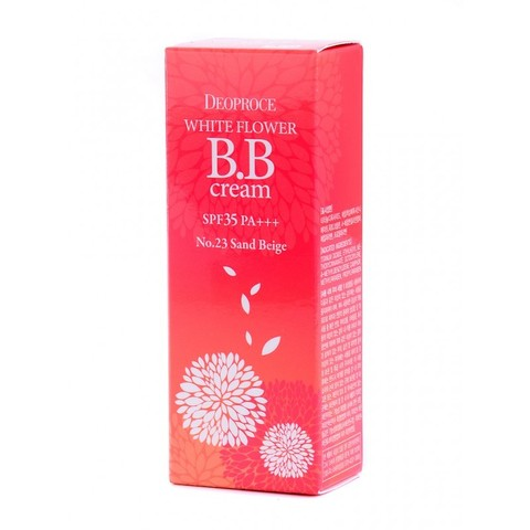 ДП CREAM Крем для лица ББ  DEOPROCE WHITE FLOWER BB CREAM SPF35 PA+++  30гр