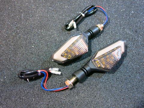 Поворотники LED универсальные Honda Kawasaki Suzuki Yamaha