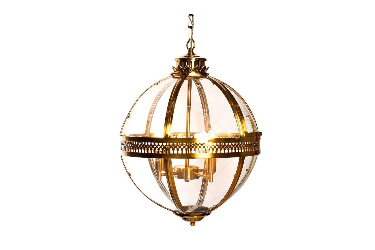 K2KM0115P-4MGOLD Светильник потолочный d43*63см цвет золото